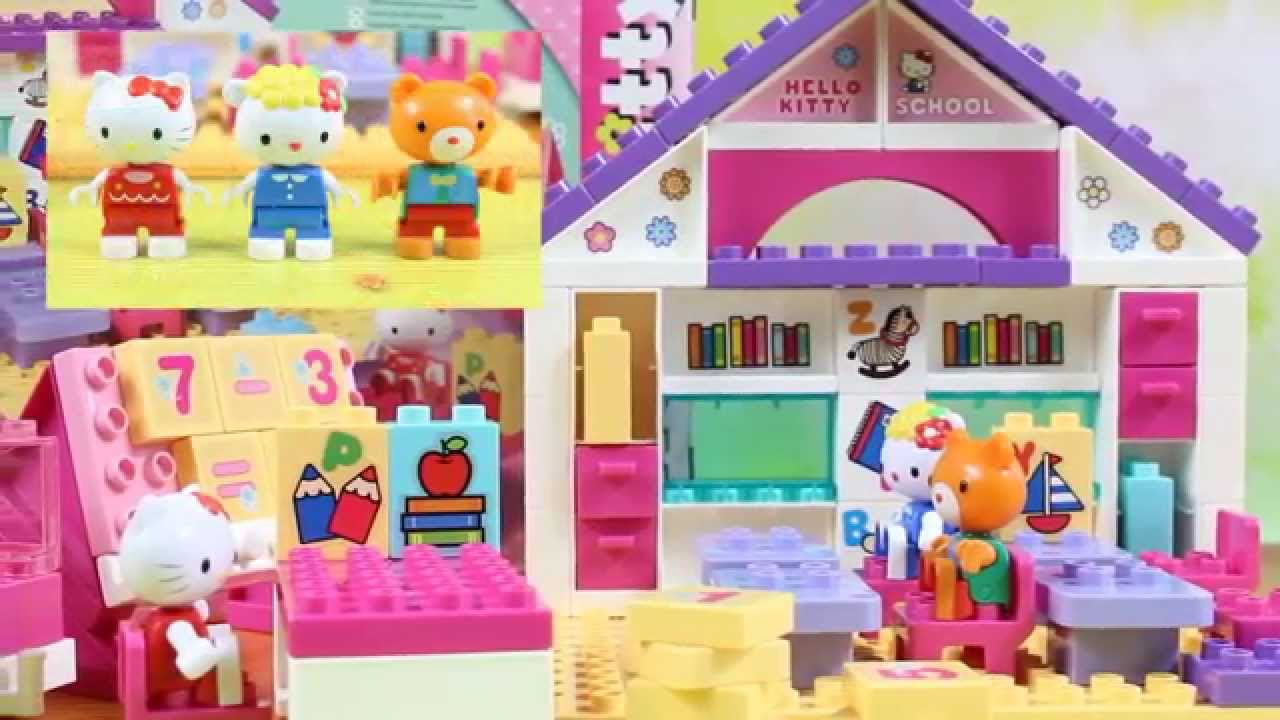 Big School Play-Set / Szkoła - Hello Kitty - Play Big Bloxx - Simba ...