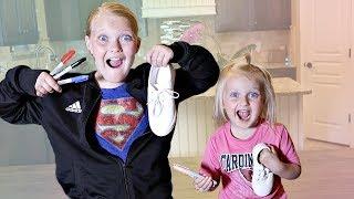 3 MARKER Shoe Challenge!!