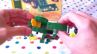 Mega Bloks John Deere Farm Tractor Toy Ages 5 Up ERTL Farm Sets Building Part 1