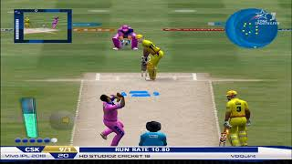 Chennai Super Kings vs Rajasthan Royals Part 2 | EA CRICKET 20 PC Gameplay | EA Sports Cricket 2020