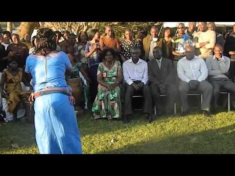 Zambian kitchen party/Entertainment