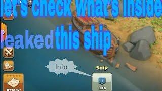 Clash of clans unbroken shipwreck