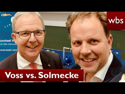 Artikel 13: Voss vs. Solmecke - Politiker entschuldigt sich bei 'Bots'| RA Christian Solmecke
