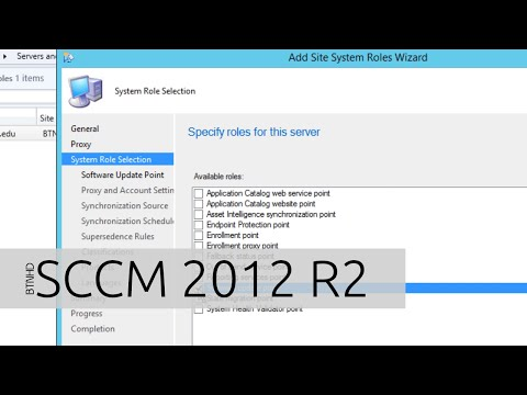 Adding Software Update Point on SCCM 2012 R2 - YouTube