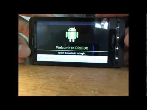 DroidX como pasar pantalla de activacion,como activar un droid X? Liberar