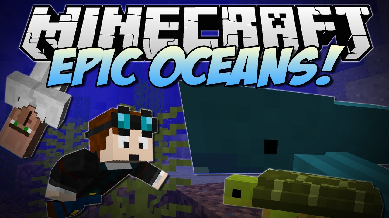Minecraft Epic Oceans Cannibals Sharks Turtles And