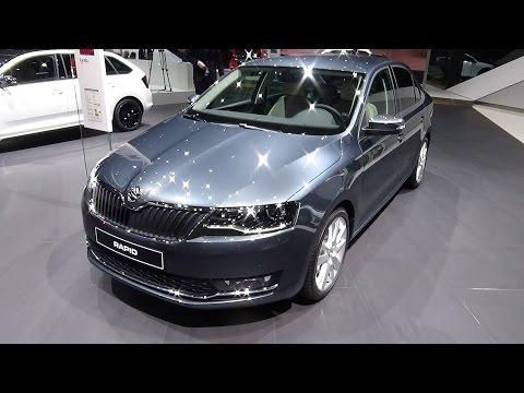 2018 Skoda Rapid Style - Exterior and Interior - Geneva Motor Show 2017