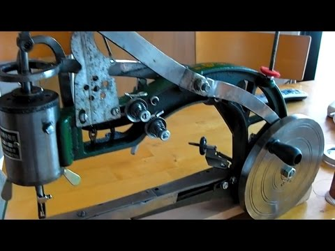 Chinese Leather Patcher Sewing Machine Review: Singer Model 29K Clone?