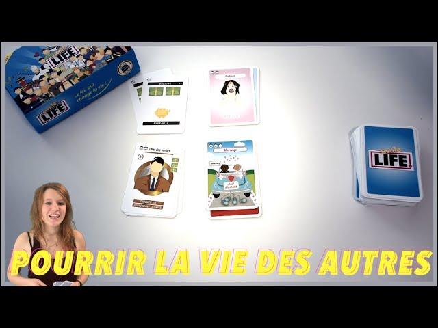 Règles complètes du jeu Smile Life en vidéo