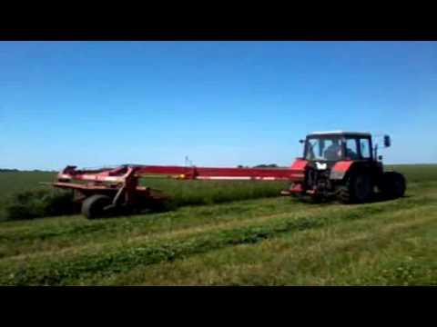 заготовка кормов в оао Леднево часть 2. forage JSC Lednevо. part 2