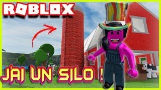 J'AI UN SILO !! | Roblox Welcome To Farmtown