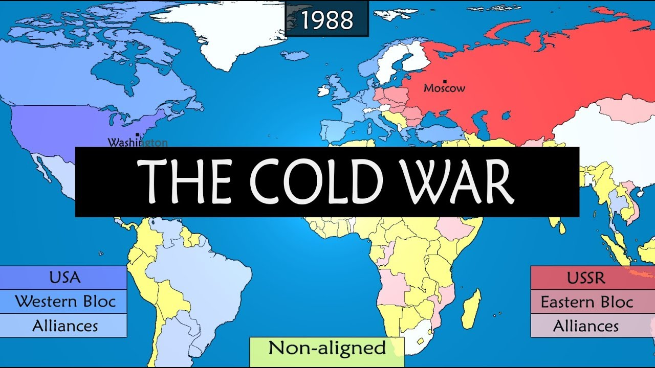 Map Of Germany During Cold War.The Cold War Summary Of Main Stages Of Conflict Youtube