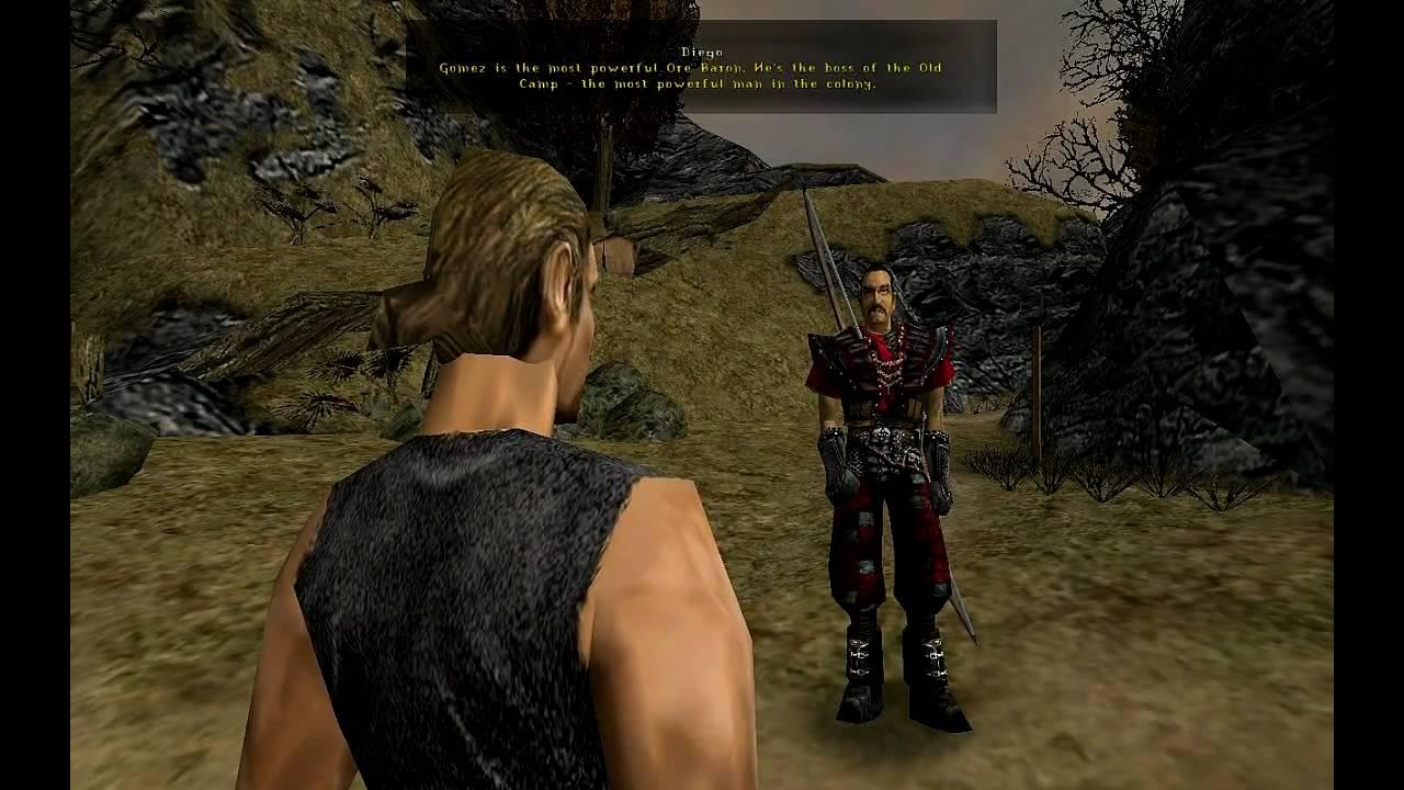 Gothic 1 Gameplay (720p) - YouTube