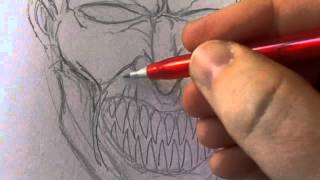 How To Draw An Evil Face