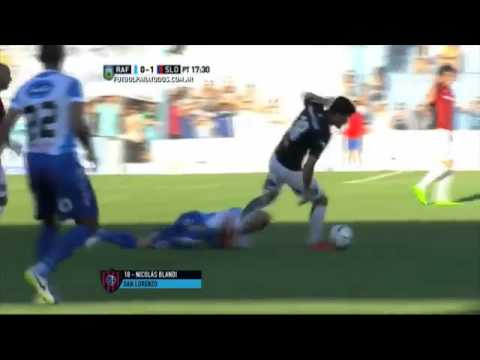 Subcampeón: San Lorenzo ganó en Rafaela y clasificó a la Libertadores