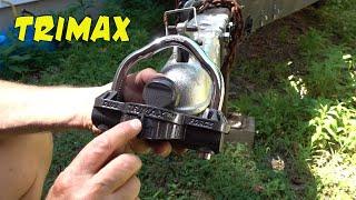 (1537) TriMax UMAX50 Trailer Coupler Lock