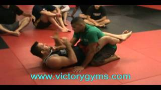 Victory MMA - Dean Lister Guard Intro and Basic Armbar from the Guard