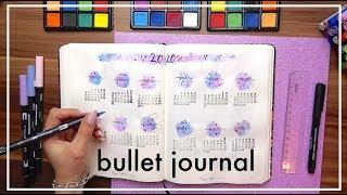 Bullet Journal 2020 - Tervezzünk! | Viszkok Fruzsi