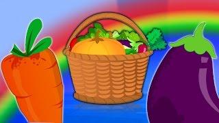 овощи песни | узнать имена овощей | Дошкольная песня | Vegetables Song For Kids in Russian