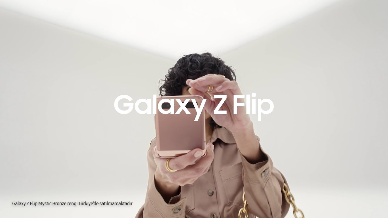 Galaxy Z Flip: Tasarım | Samsung