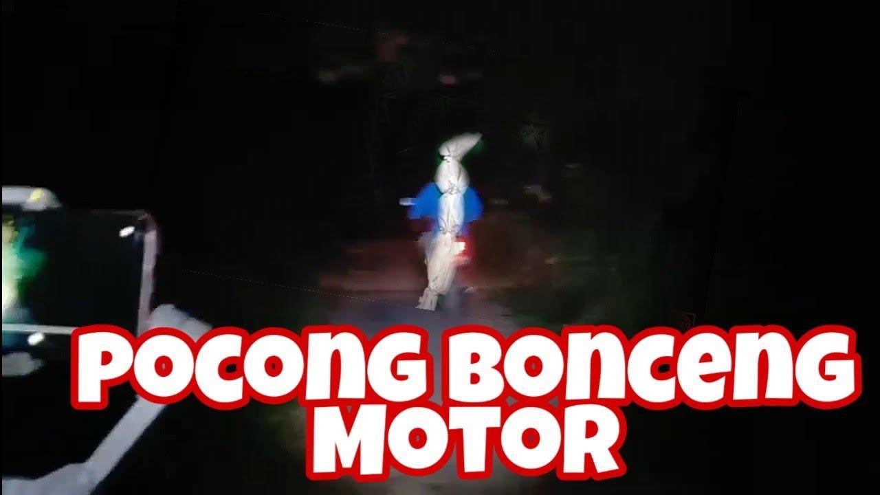 Liat Pocong Bonceng Motor Bareng Triono Comal