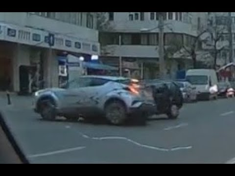Ghost Car Caught On Dash-Cam. Iași, Romania. October 31, 2017