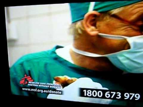 Robert De Niro and Medecins sans Frontieres