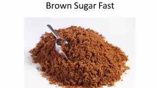 How To Soften Brown Sugar Fast