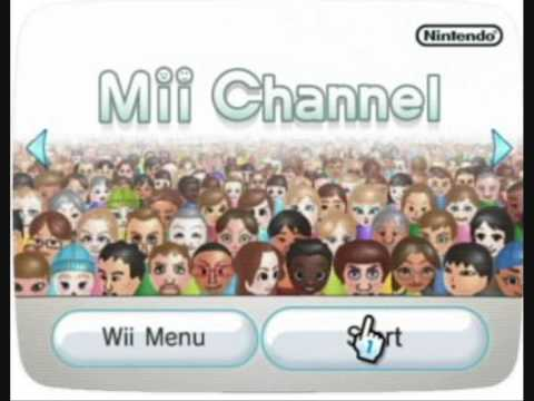 Mii Channel Theme Nintendo Wii Music