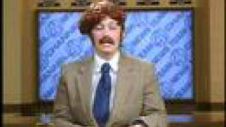 "Emerson College Ron Burgundy Gag on ""Good Morning Emerson"" in 2007"