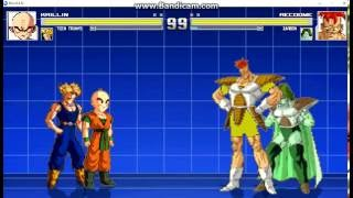 MUGEN Fights 38: Teen Trunks and Krillin Vs Recoome and Zarbon