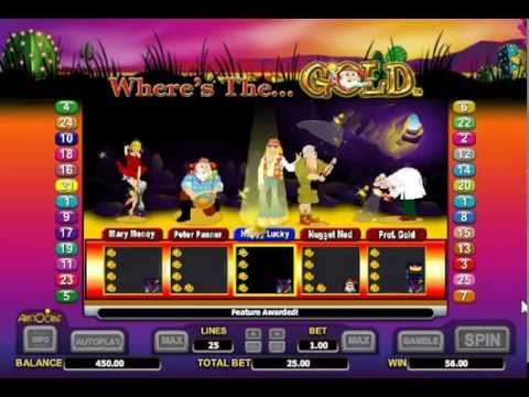 Aristocrat Online Pokies Slot Wheres The Gold Free Play