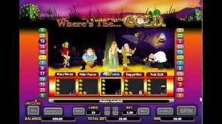 Aristocrat Online Pokies Slot Wheres The Gold   Free Play Here Video Review