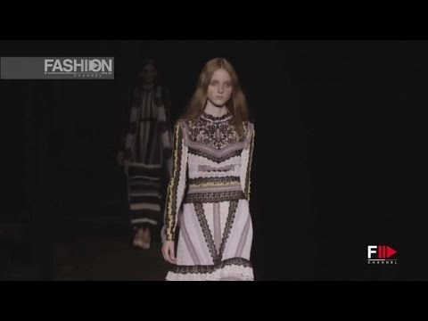 ERDEM London Fashion Week SS 2016 by Fashion Channel
