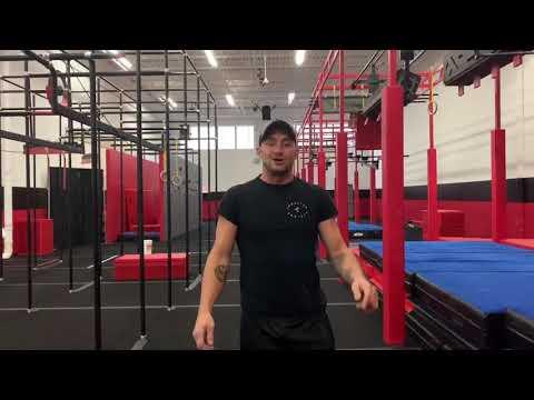 Zac Palazzo's Ameircan Ninja Warrior video.