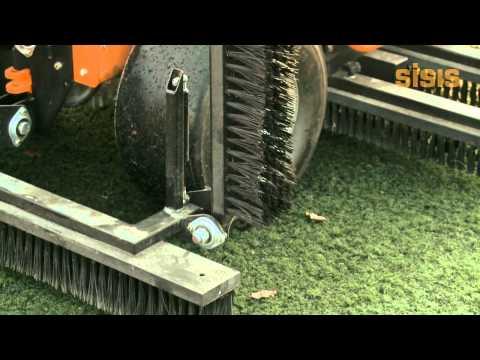 SISIS Brush-Pro - Synthetic Turf Maintenance
