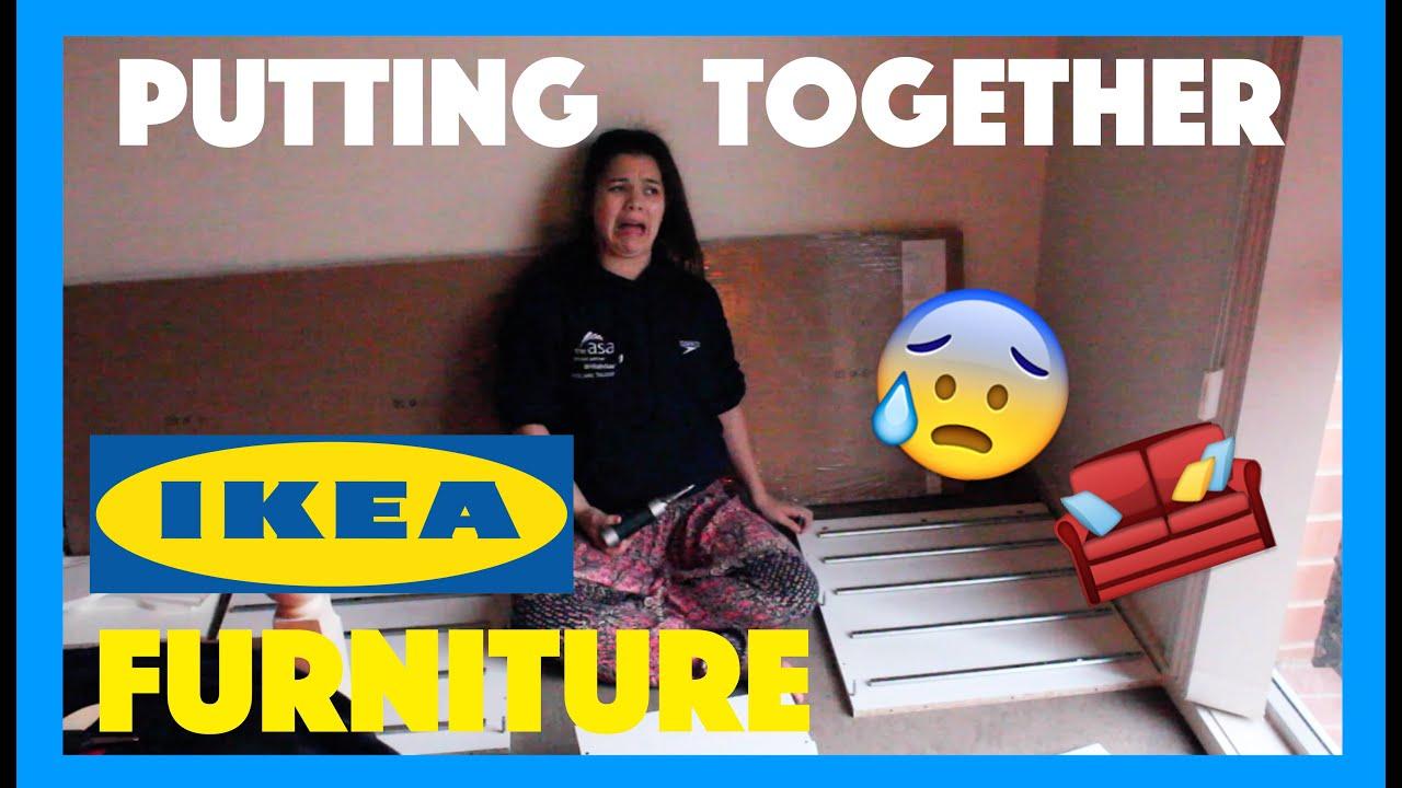 Assembling Ikea Furniture Youtube
