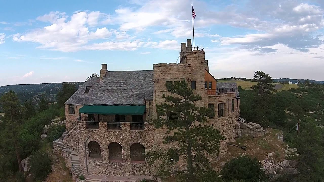 Aerial Video Of Cherokee Ranch Amp Castle Youtube