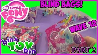 My Little Pony Cutie Mark Magic Wave 12 Blind Bags Opening, Part 2! by Bin
