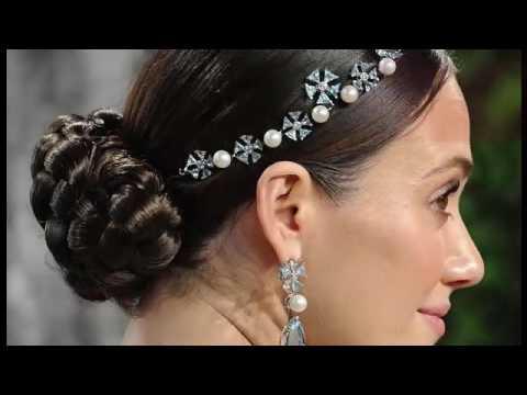 Adornos Para Peinados De Novia Youtube - Adornos-de-novia-para-el-cabello