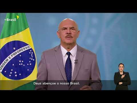 #AoVivo: Pronunciamento do ministro da Educação, Milton Ribeiro