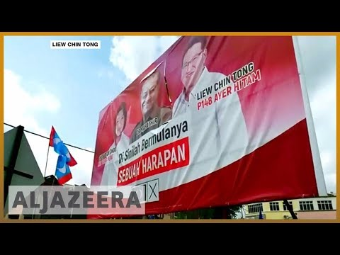🇲🇾 Malaysia's ruling party expected to win election   Al Jazeera English