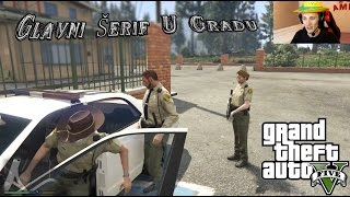 Grand Theft Auto V Police Mod - Šerif je u gradu