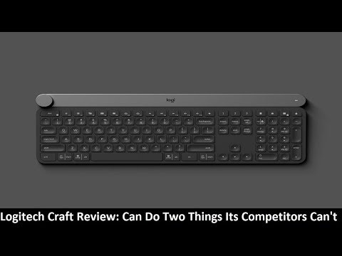 Logitech Craft Review: Can Do Two Things Its Competitors Can't