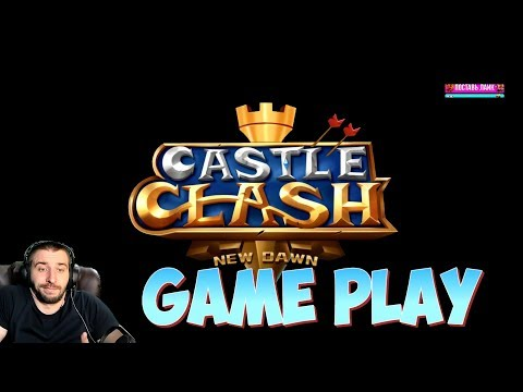 ИГРАЕМ CASTLE CLASH 2 NEW DAWN! TOP REVIEW
