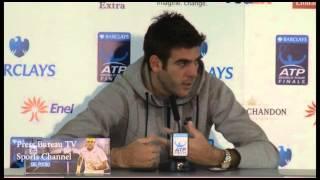 Roger Federer vs Juan Martín del Potro - Del Potro spanish