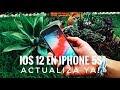 IOS 12 en iPhone 5S - La Mejora es Increible Actualiza YA!