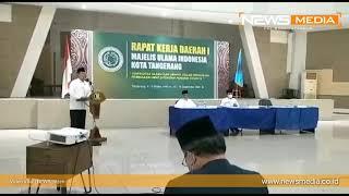 Video Ketua Dewan Pertimbangan MUI Kota Tangerang Meninggal Dunia Saat Rapat Kerja