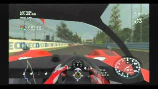 Ferrari Race Experience (Wii) - Gameplay Canada