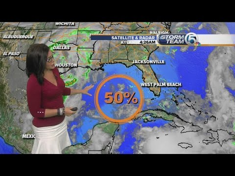 Area near Yucatan Peninsula has 50% chance to develop